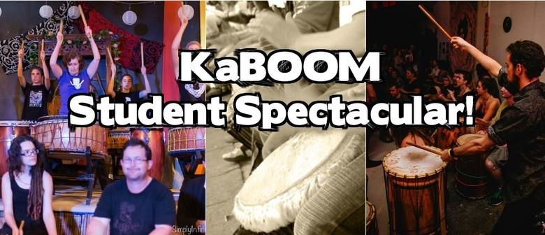 KaBOOM! Student Drumming Spectacular