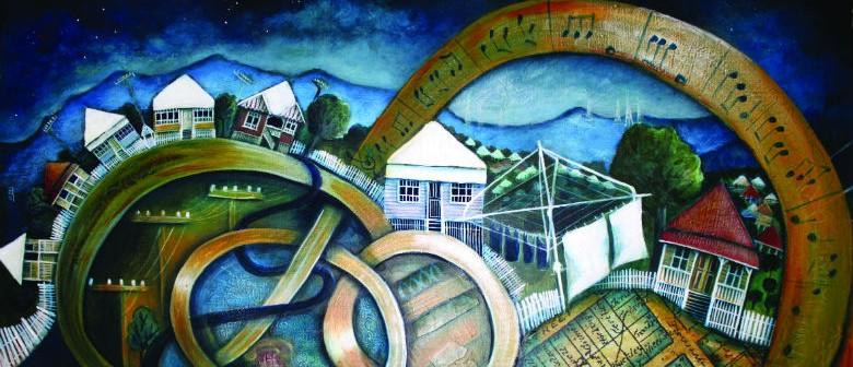 """In My Backyard"" Art Exhibition Pamela Gough, Visual Artist"