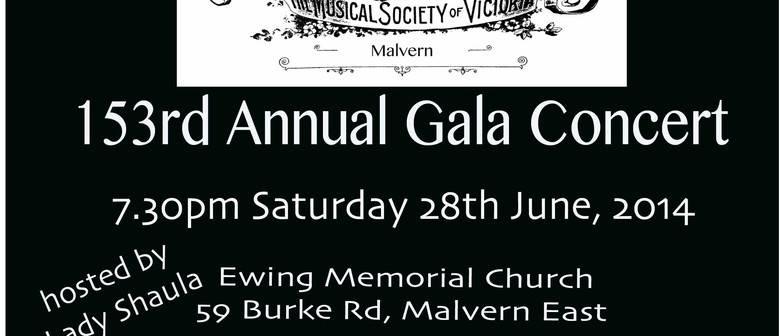 Musical Society of Victoria 153rd Gala Concert
