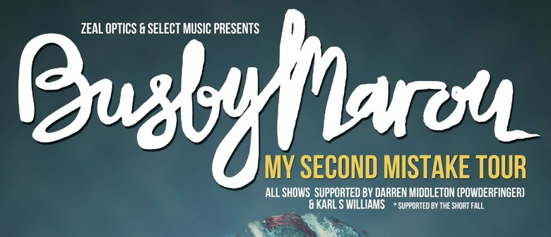 Busby Marou - My Second Mistake Tour
