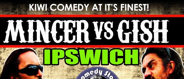 Gish vs. Mincer - Bro's on the Run Tour