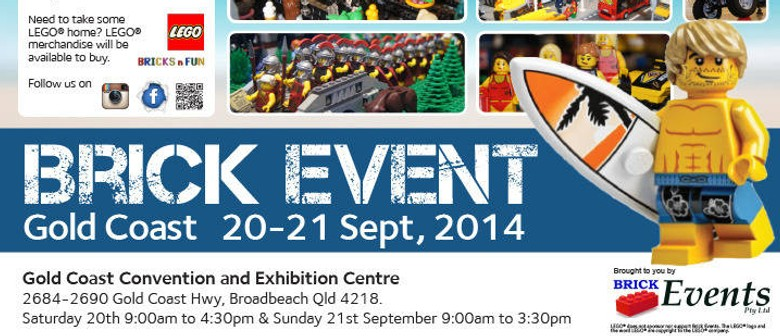 The Gold Coast Brick Event