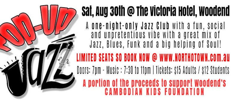 Pop Up Jazz for the Cambodian Kids Foundation