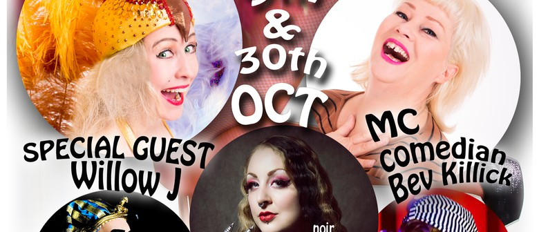 Sinful Pleasures Burlesque October