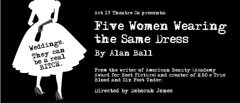Five Women Wearing the Same Dress by Alan Ball