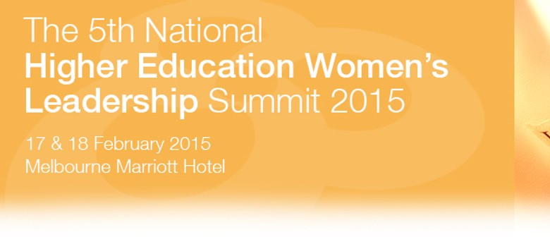 The 5th National Higher Education Women's Leadership Summit