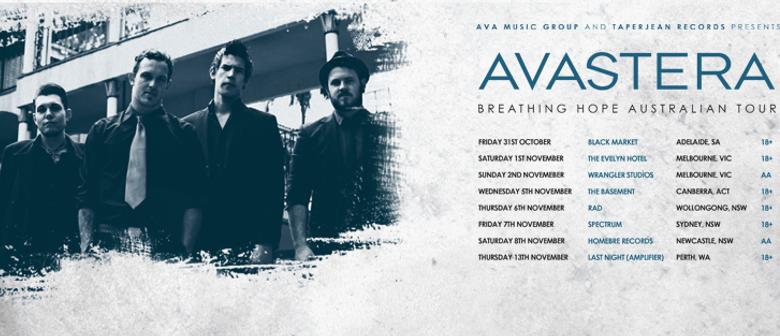 Avastera Australian Tour