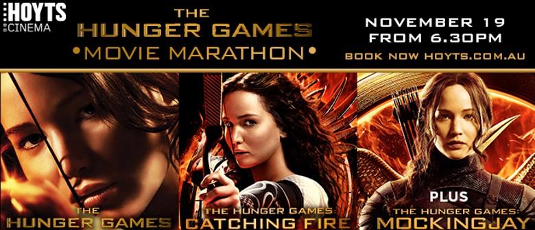 The Hunger Games Movie Marathon plus Mockingjay Part 1