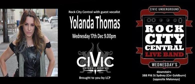 Rock City Central with special guest Yolanda Thomas