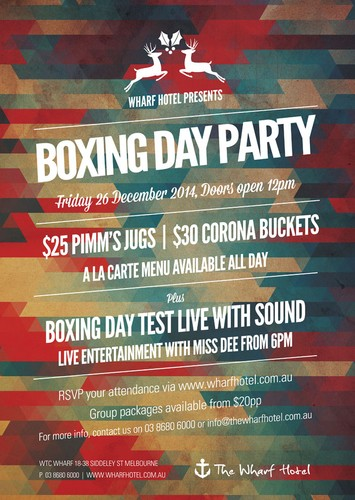 Boxing Day Party - Melbourne - Eventfinda