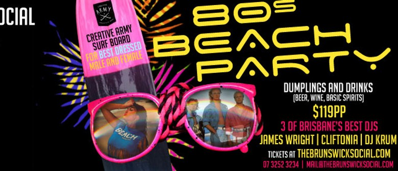 New Year's Eve 80s Beach Party