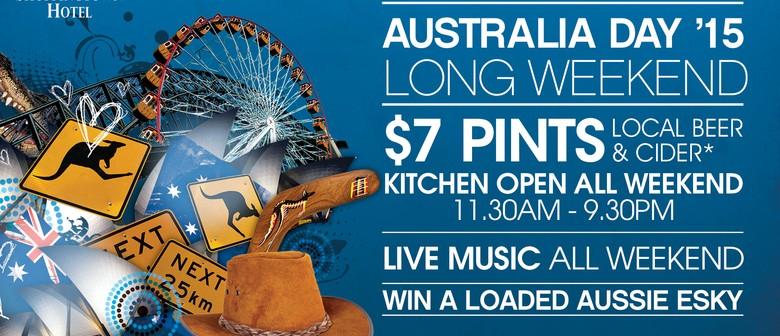 Australia Day Long Weekend 2015