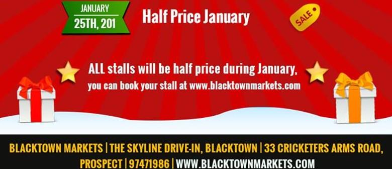 Half Price January - All Stalls