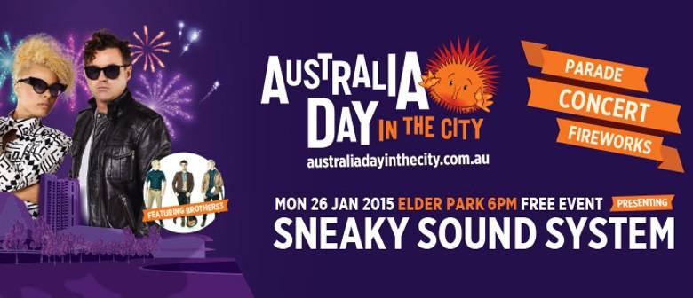 Australia Day in the City 2015