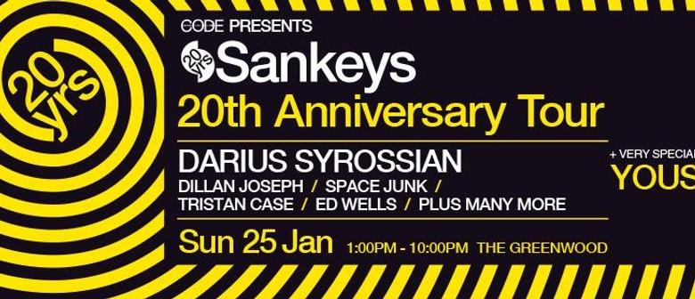 Code Presents Sankeys 20th Anniversary Tour