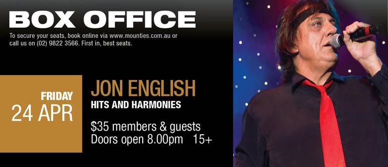 Jon English - Hits and Harmonies