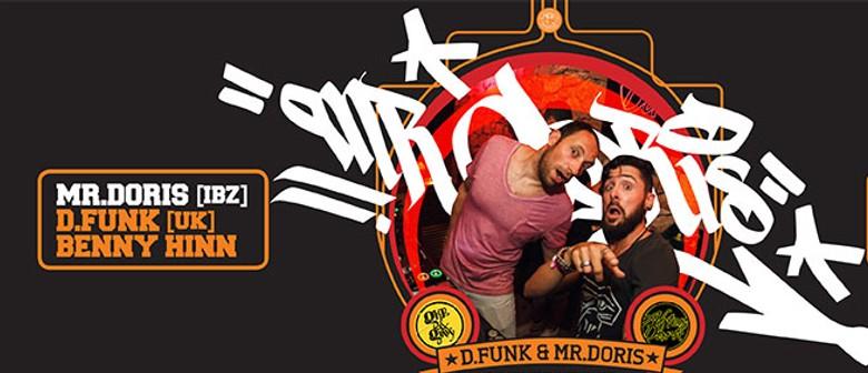 Skratch Saturdays Feat. Mr Doris - Ibiza, D.funk UK