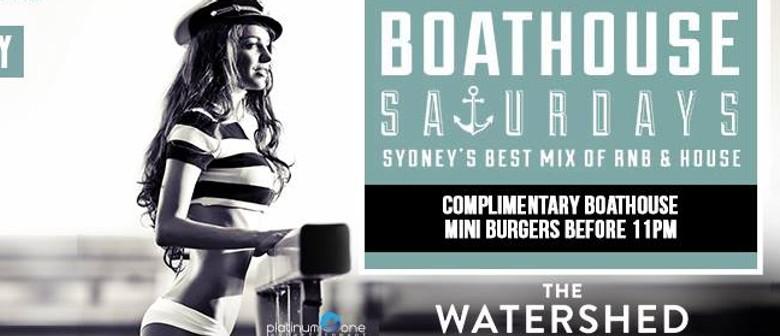 Boathouse Saturdays