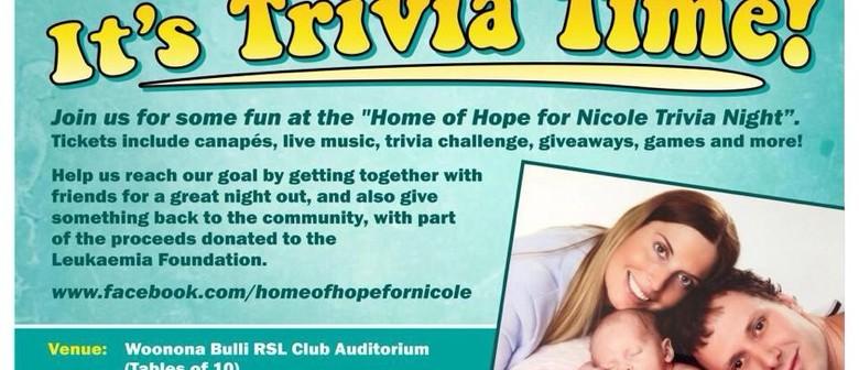 Home of Hope Trivia Night