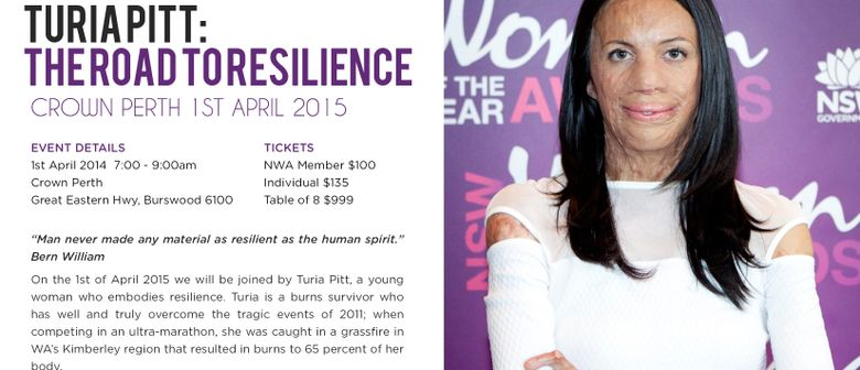 Turia Pitt's Road To Resilience