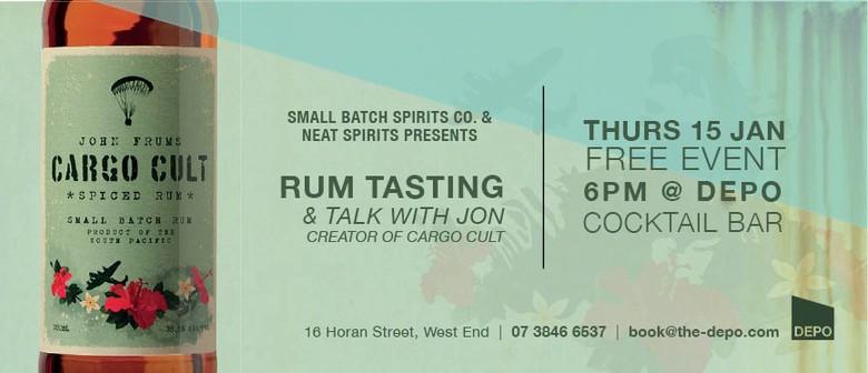 Cargo Cult Rum Tasting