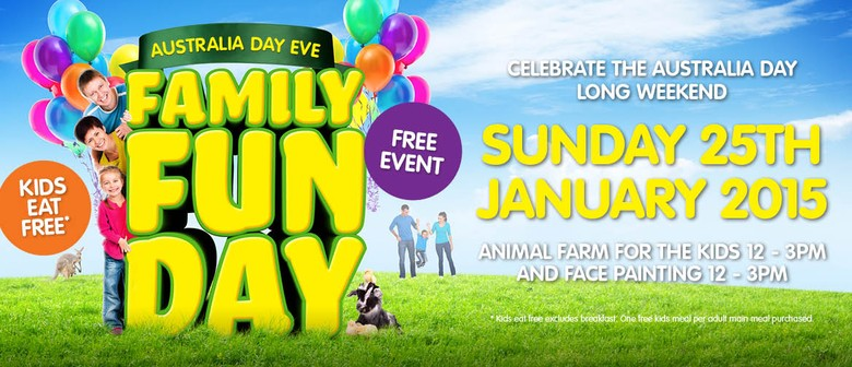 Australia Day Eve Family Fun Day