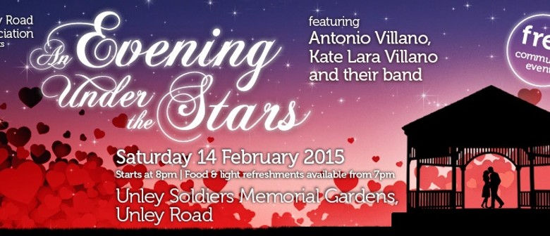 An Evening Under The Stars - Free Valentines Day Concert