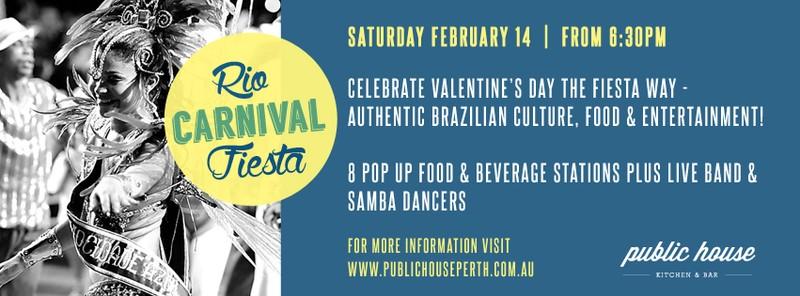 Rio carnival fiesta perth eventfinda for 123 adelaide terrace perth