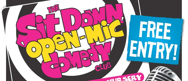 The Sit Down Open Mic Comedy Club