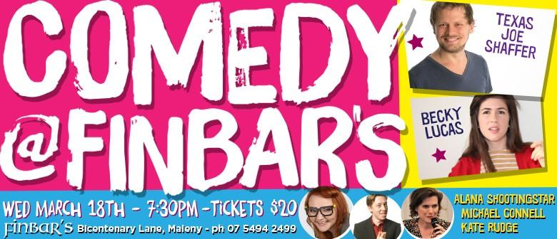 Comedy @ Finbar's