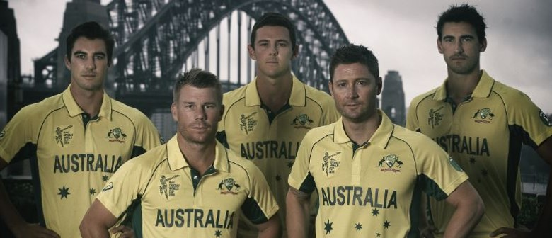 AUS Cricket World Cup Team Public Appearance