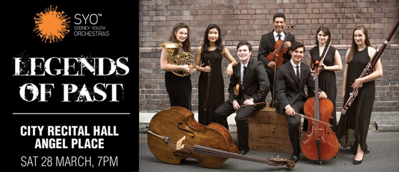 Sydney Youth Orchestra Presents Legends Of Past