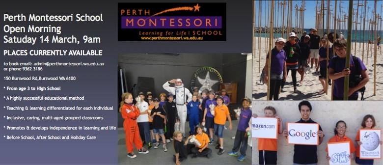 Perth Montessori Open Morning