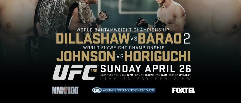 UFC 186 Dillashaw Vs Barrao