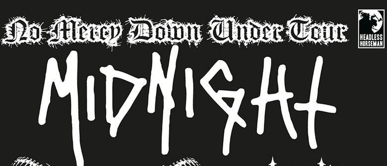 Midnight - No Mercy Down Under Tour