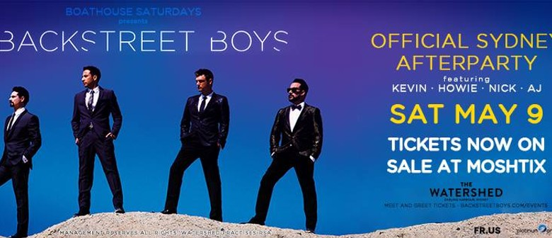 Boathouse Saturdays - Backstreet Boys Official Afterparty