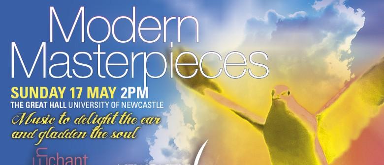 Modern Masterpieces concert