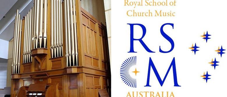 RSCM Monthly Lunchtime Organ Recital