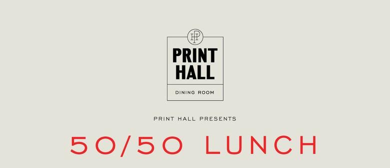 The Print Room Perth Menu