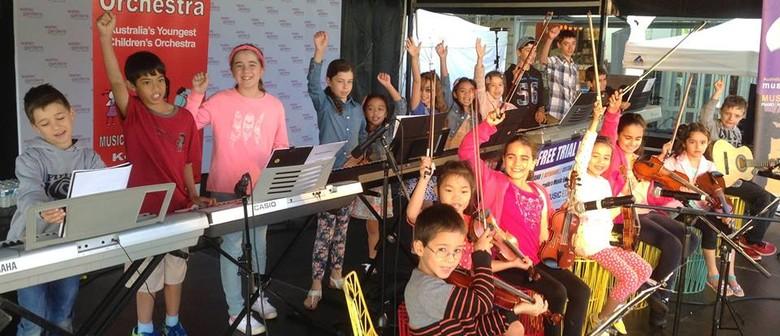 Mozartini Orchestra Performance