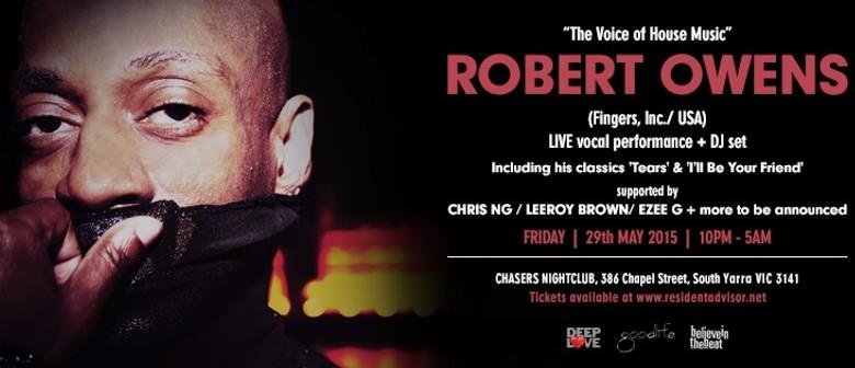 Robert Owens The Voice Of House Music - PA & DJ Set