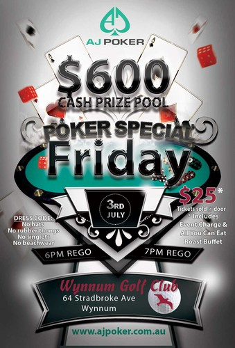 Brisbane Poker Tournaments