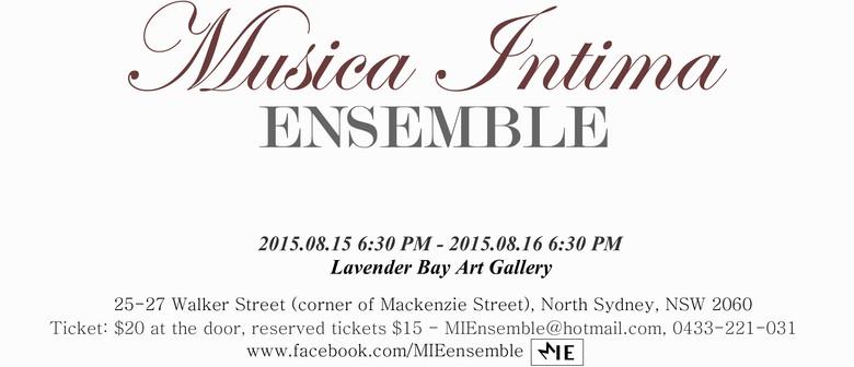 The Journey of Diversity - Musica Intima Ensemble