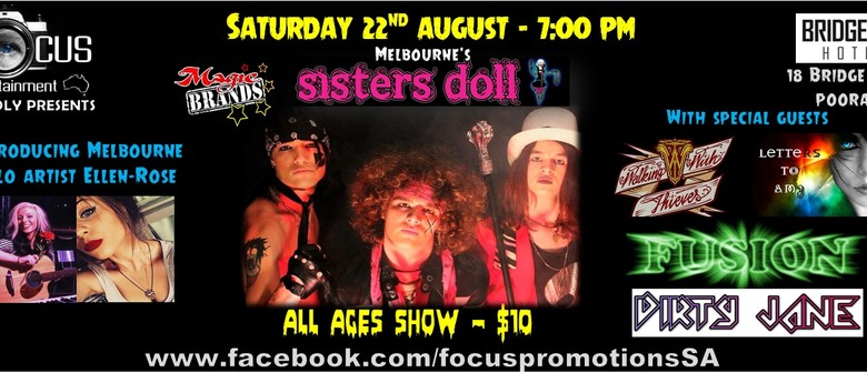 Sisters Doll - Walking With Thieves & More