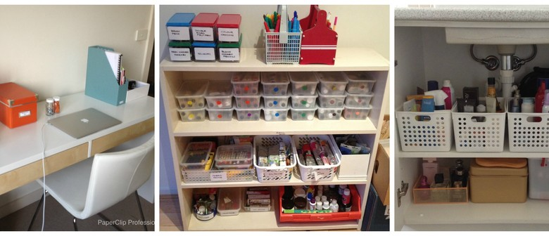 Get Conncected! Get Organised With Your Space!