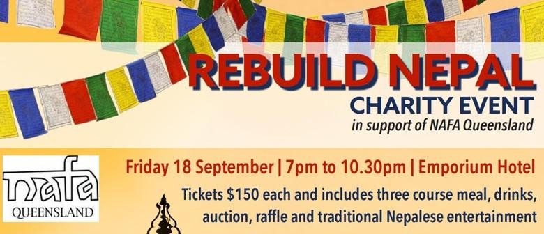 Rebuild Nepal Charity Gala Dinner