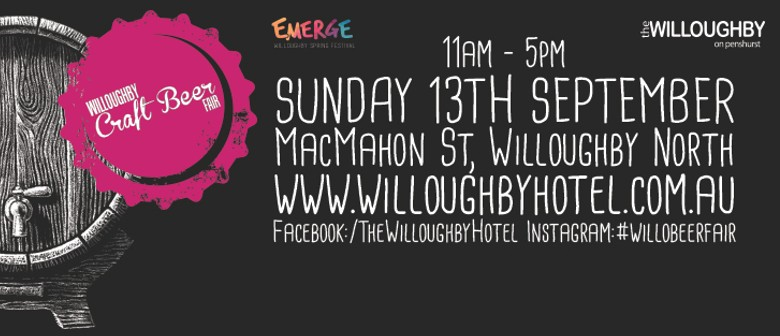 2015 Willoughby Craft Beer Fair