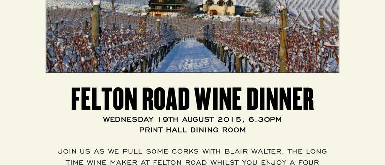 Felton Road Wine Dinner