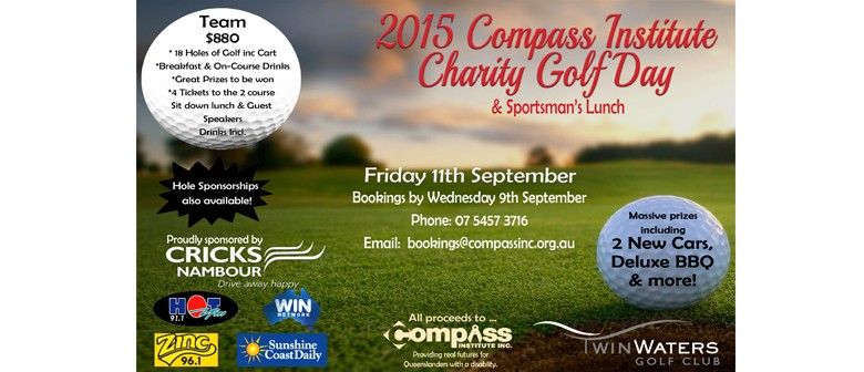 The Compass Institute Charity Golf Day
