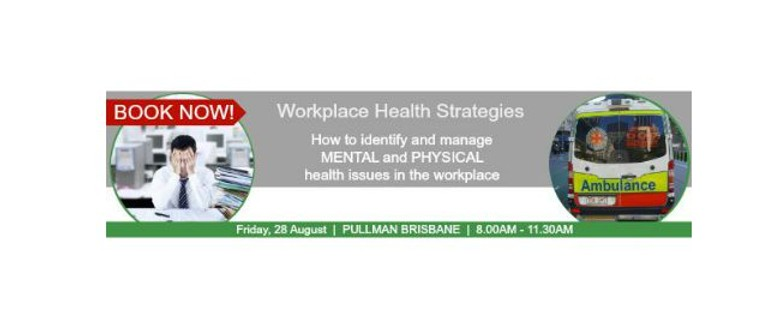 Workplace Health Strategies